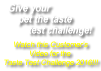 Happy Tails Taste Test Challenge